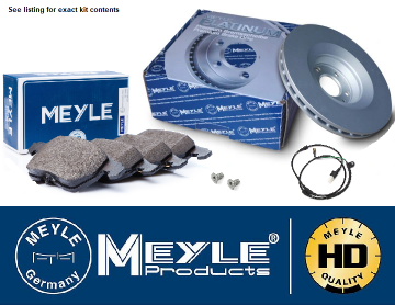 KIT246 Meyle Coated Front Disc & Pad Kit Defender with Vented Brake Discs